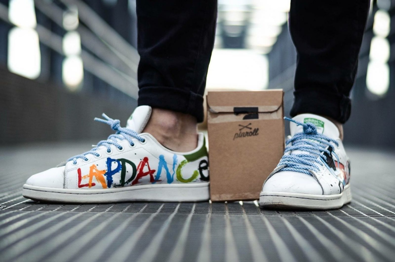 Pinroll lacets pour sneakers