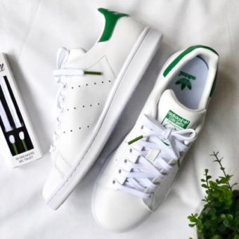 lacets_superstar_Adidas_stan_smith_lacets_verte