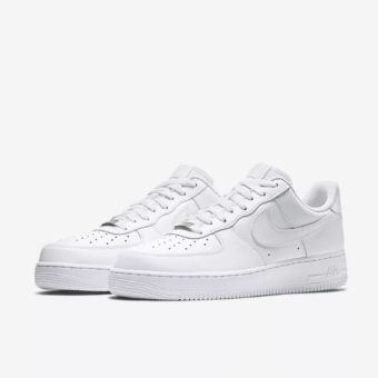 Lacets Nike - Nike Air Force Blanche