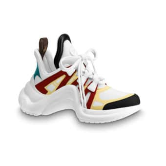 5 raisons de succomber aux dad shoes - Pinroll lacets baskets sneakers - Louis Vuitton Archlight