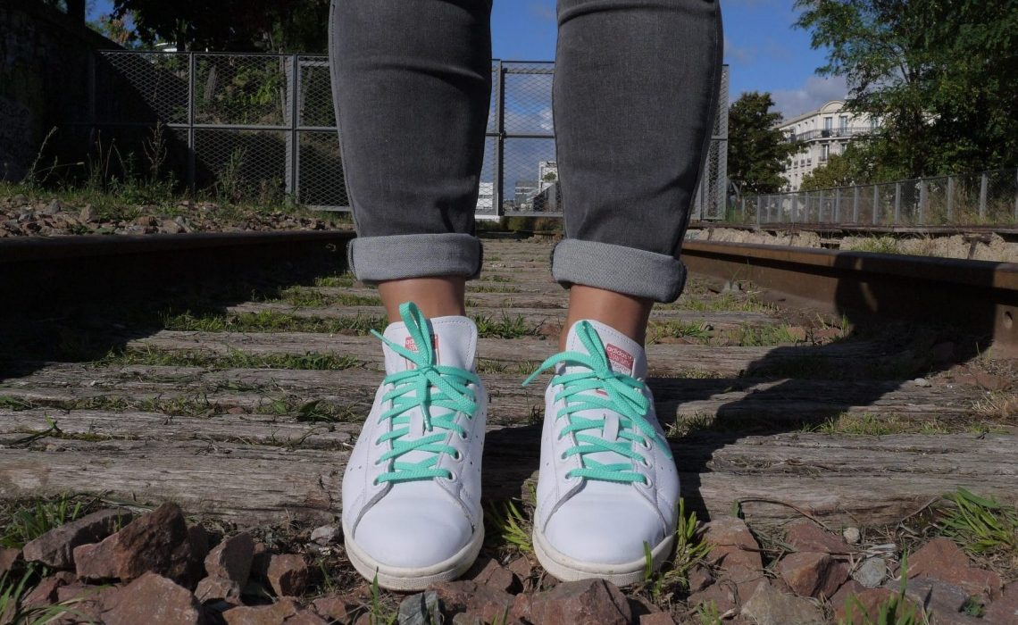 Pinroll lacets baskets, lacets pour stan smith Adidas baskets